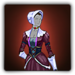 Colonist's outfit icon (female)