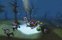 2012 Christmas event setting