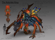Kalphite King concept art