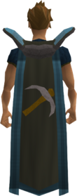 Retro mining cape (t) equipped