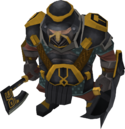 Black guard berserker male