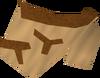 Tribal top (brown) detail