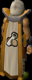 Retro construction cape (t) equipped