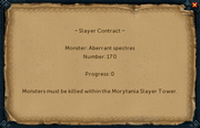 Slayer contract interface