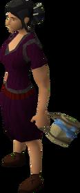 Rune satchel equipped