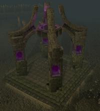 Wilderness obelisk