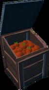 Tomatoes in bin