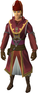 Diviner's outfit equipped