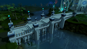 Wizards' Tower bridge