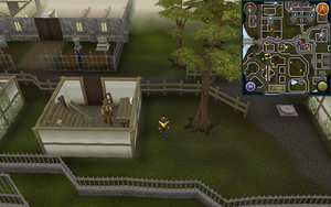 Scan clue East Ardougne west of Estate Agent