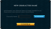 Display Name Interface