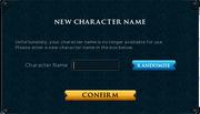 Display Name Interface