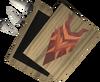 Dragon kite ornament kit (sp) detail