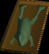 Roast frog detail