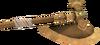 Bronze battleaxe detail
