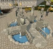Varrock fountain