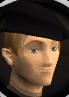 Black beret chathead