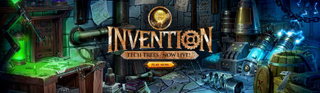 Invention Tech Trees head banner