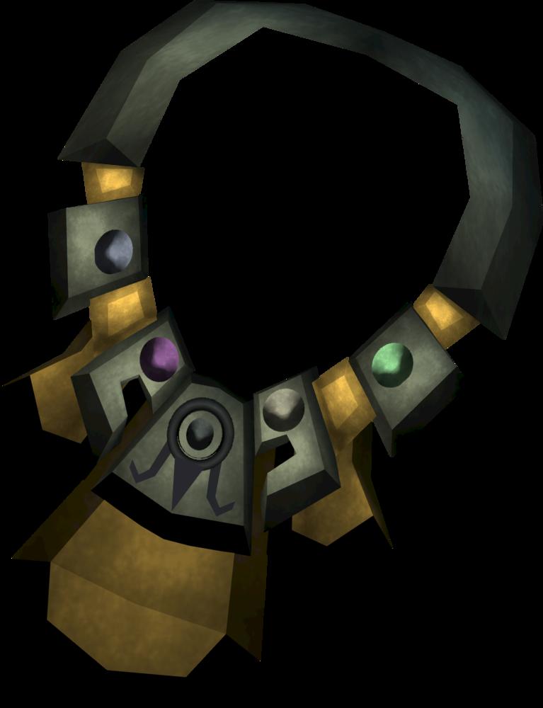 Shining alchemist's amulet detail