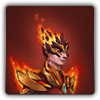Flameheart armour icon (female)
