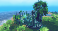 Memorial to Guthix shrine