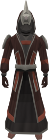 Roseblood robes equipped
