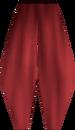 Pirate leggings (red) detail