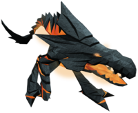 Lava monster (Elder Kiln)