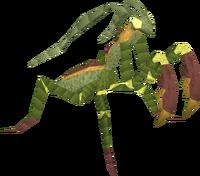Praying mantis familiar