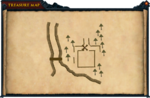 Map clue Brother Galahad's house
