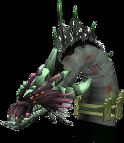 Queen Black Dragon (Carapace)