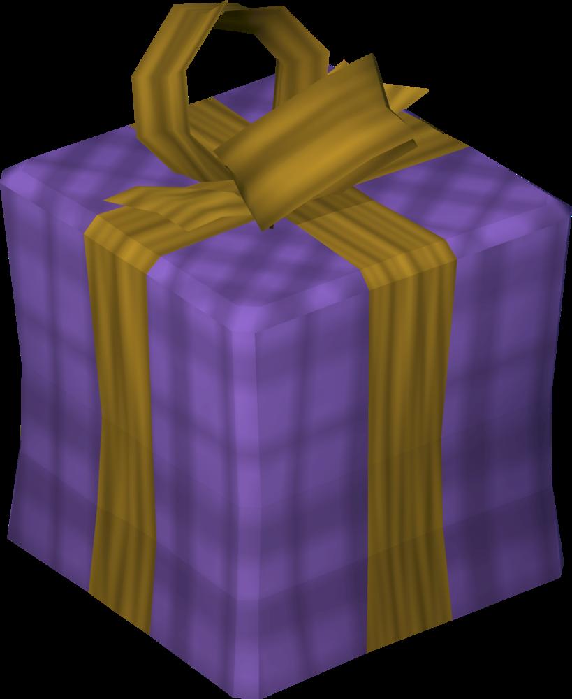 Dragonstone purple present detail