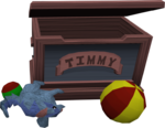 Timmy's toy chest
