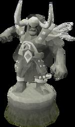 Fine Bandos statue (God Statues)