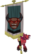 Banner carrier (lesser demon)