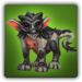 Dragon Wolf baby Solomon icon