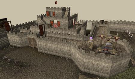Zamorak castle old