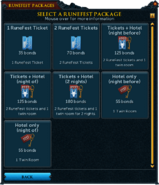 Redeeming a bond for 2014 RuneFest