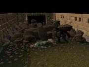 The dead elf messenger