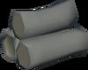 Eucalyptus logs detail