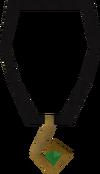 Third-age amulet detail