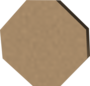 Wooden disk detail