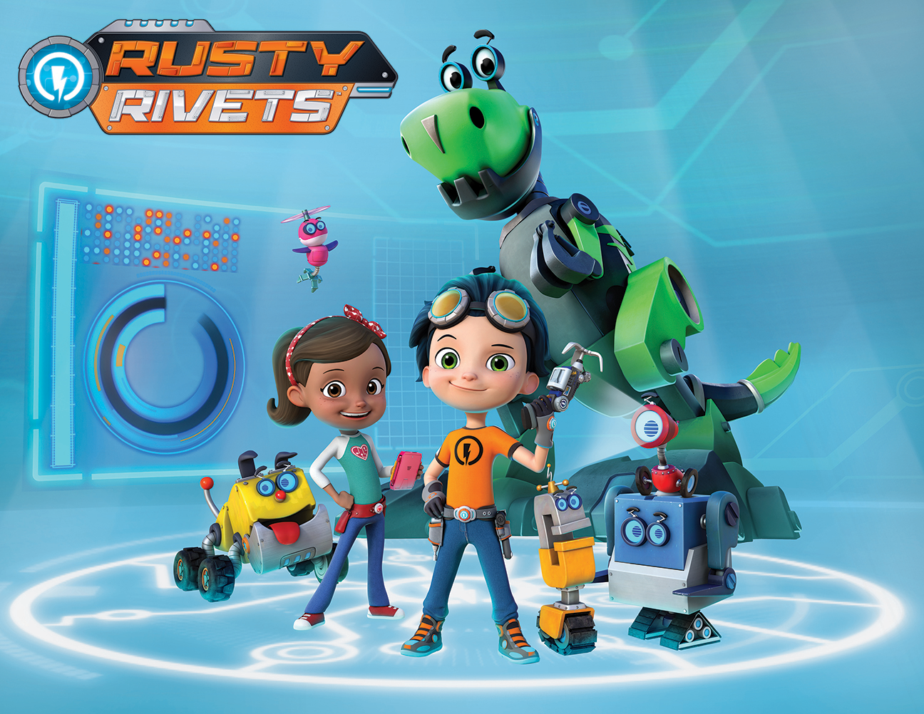 Image Rusty Rivets Nickelodeon Nick Jr Characters Spin