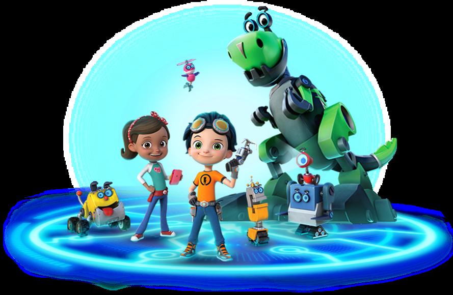 Image - Rusty Rivets Nickelodeon Nick Jr. Spin Master