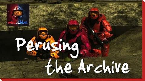 Perusing the Archive – Chapter 8 – Red vs. Blue Season 8