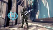Locus with sword