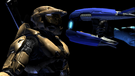 York with Plasma Rifle in face