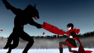 Red trailer beowolf ruby rifle