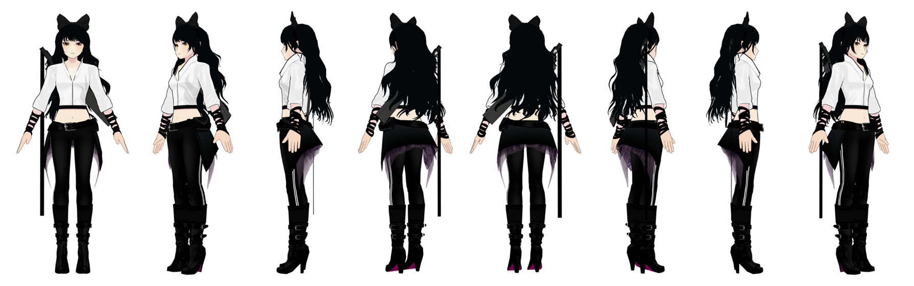 Watch besides Lie Ren Rwby Skin Request Hhh as well Fate X RWBY The  pleted Edition 525942721 further File Ruby and Weiss 2 in addition File Blake intruder turnaround. on rwby characters vol 3