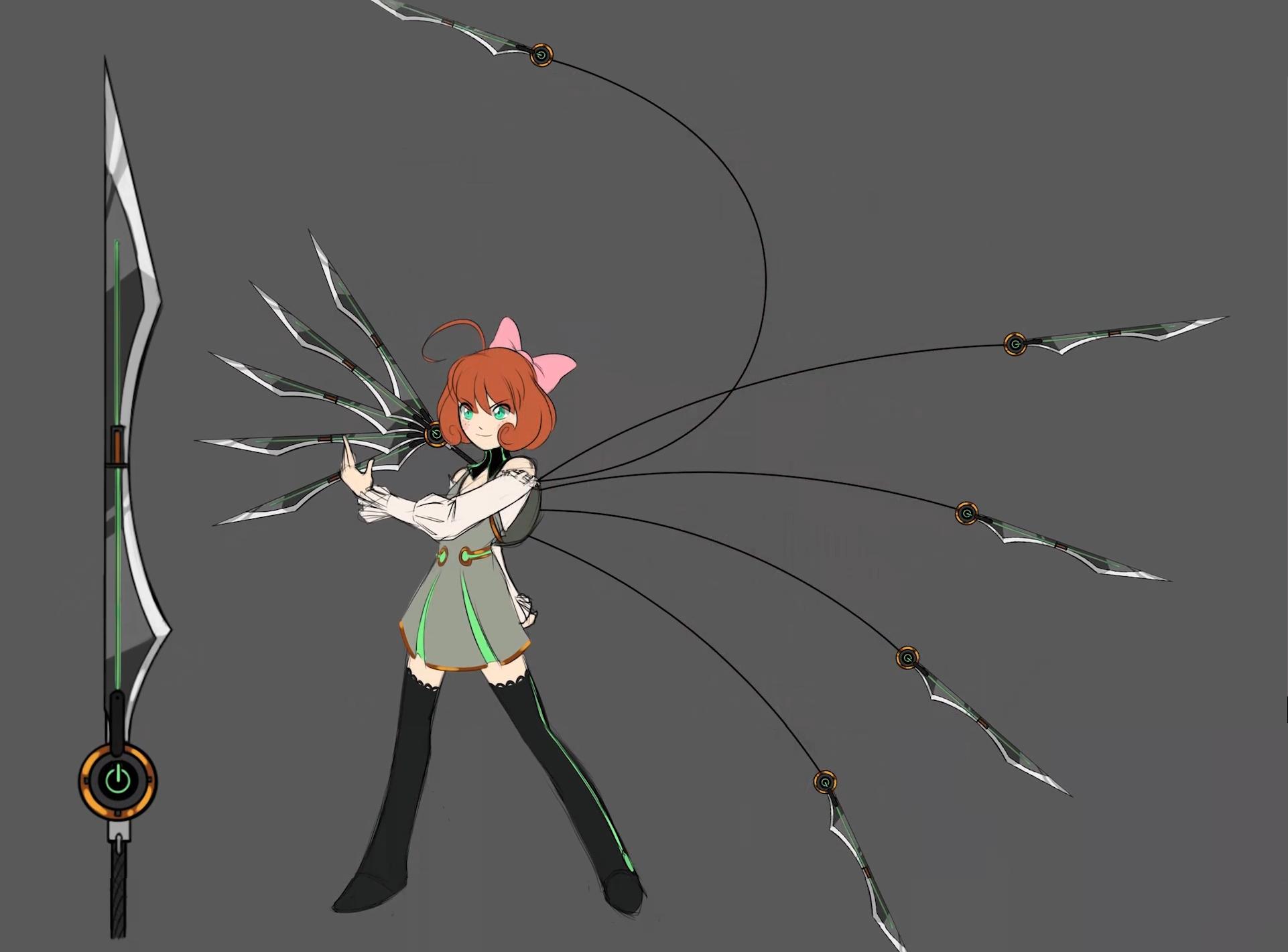 Rwby Nora Weapon